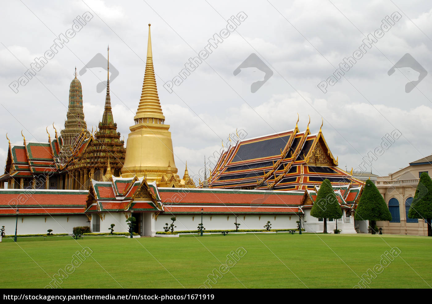grand, place, bangkok, royal, palace, asia - 1671919
