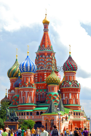 moscow, cathedral, red, square - 1681409