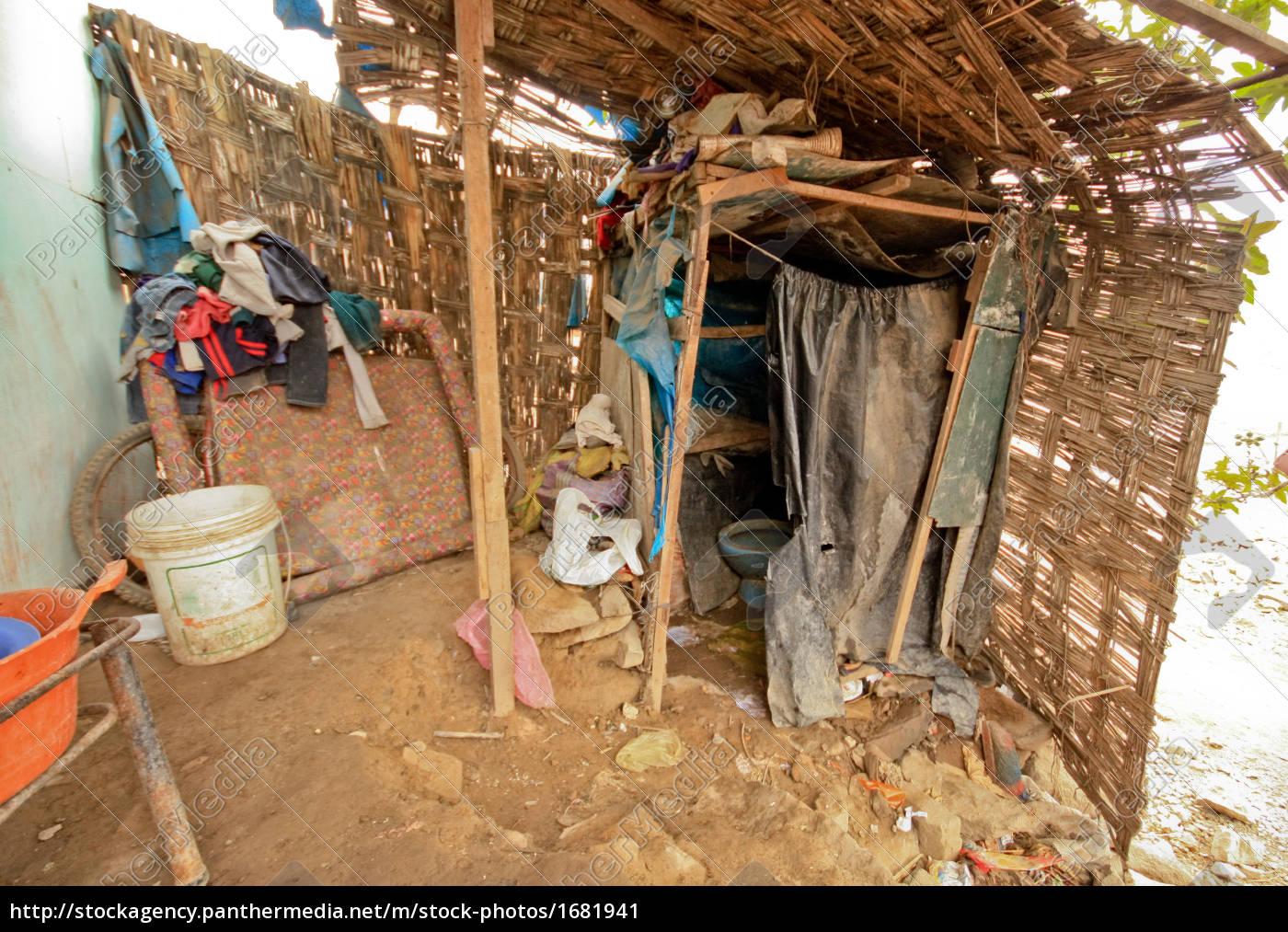 toilet, in, slums, (lima, peru) - 1681941