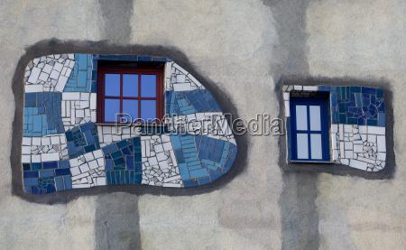 , artfully, designed, window, and, facade - 1683953