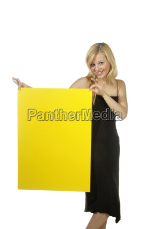 blond woman ironing board yellow