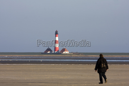 lighthouse in westerhever