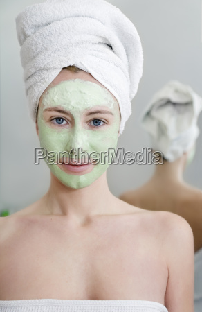 woman, face, wellness, cream, treatment, bathing resort - 1700559