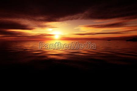 golden, ocean, sunset - 1703611