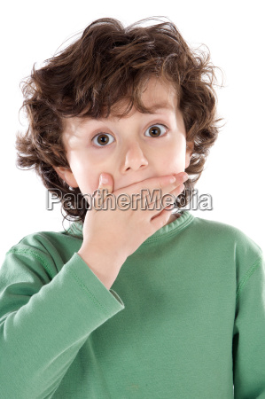 surprised, adorable, child, - 1704945