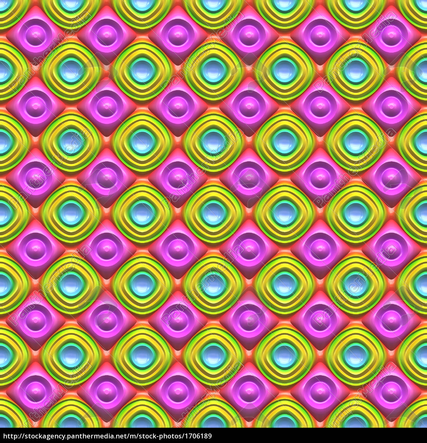 Hexagon Pattern 3d Background Stock Photo Alamy