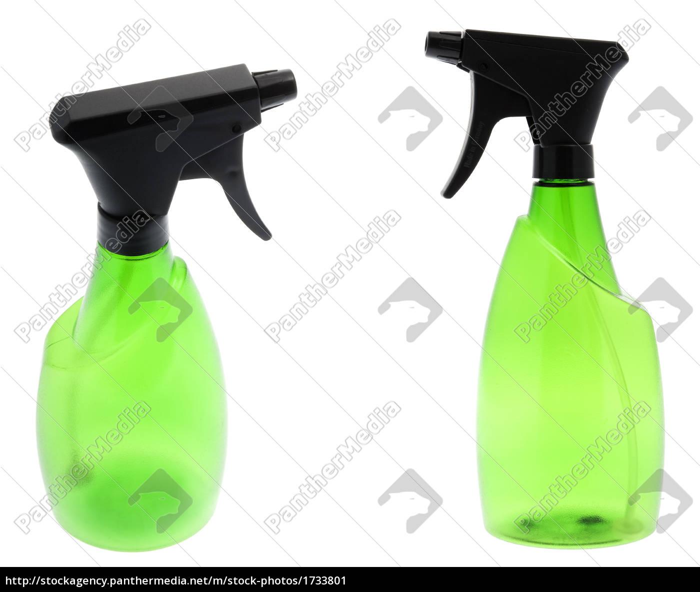 green, spray, bottle - 1733801