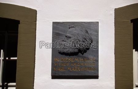 marx commemorative plaque dt 0250