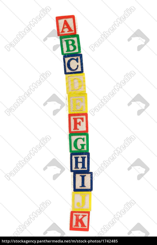 block, letters - 1742485