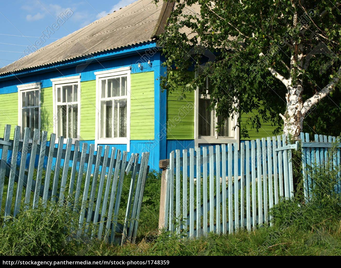 siberian, wooden, house - 1748359
