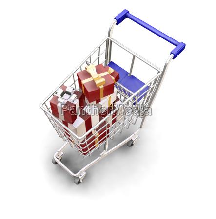 christmas, shopping - 1749475