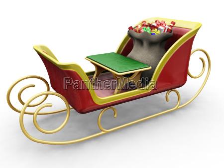 santas, sleigh - 1750437