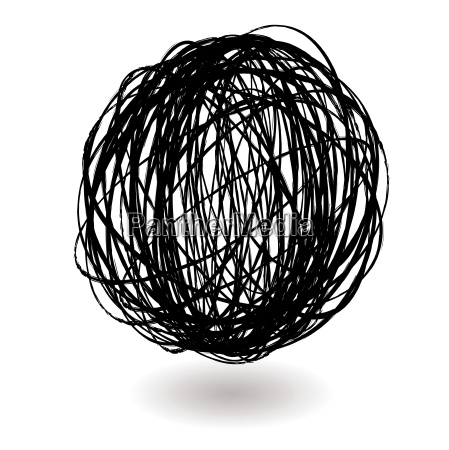 scribble, ball - 1754115