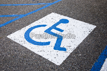 reserved for disabled