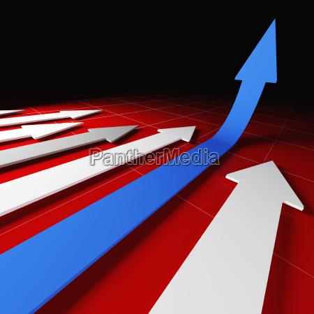 grow arrow stat