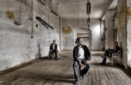 tres, hombres, .. - 1758021
