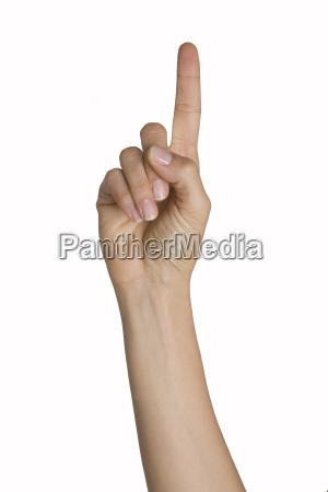 a, finger - 1761029
