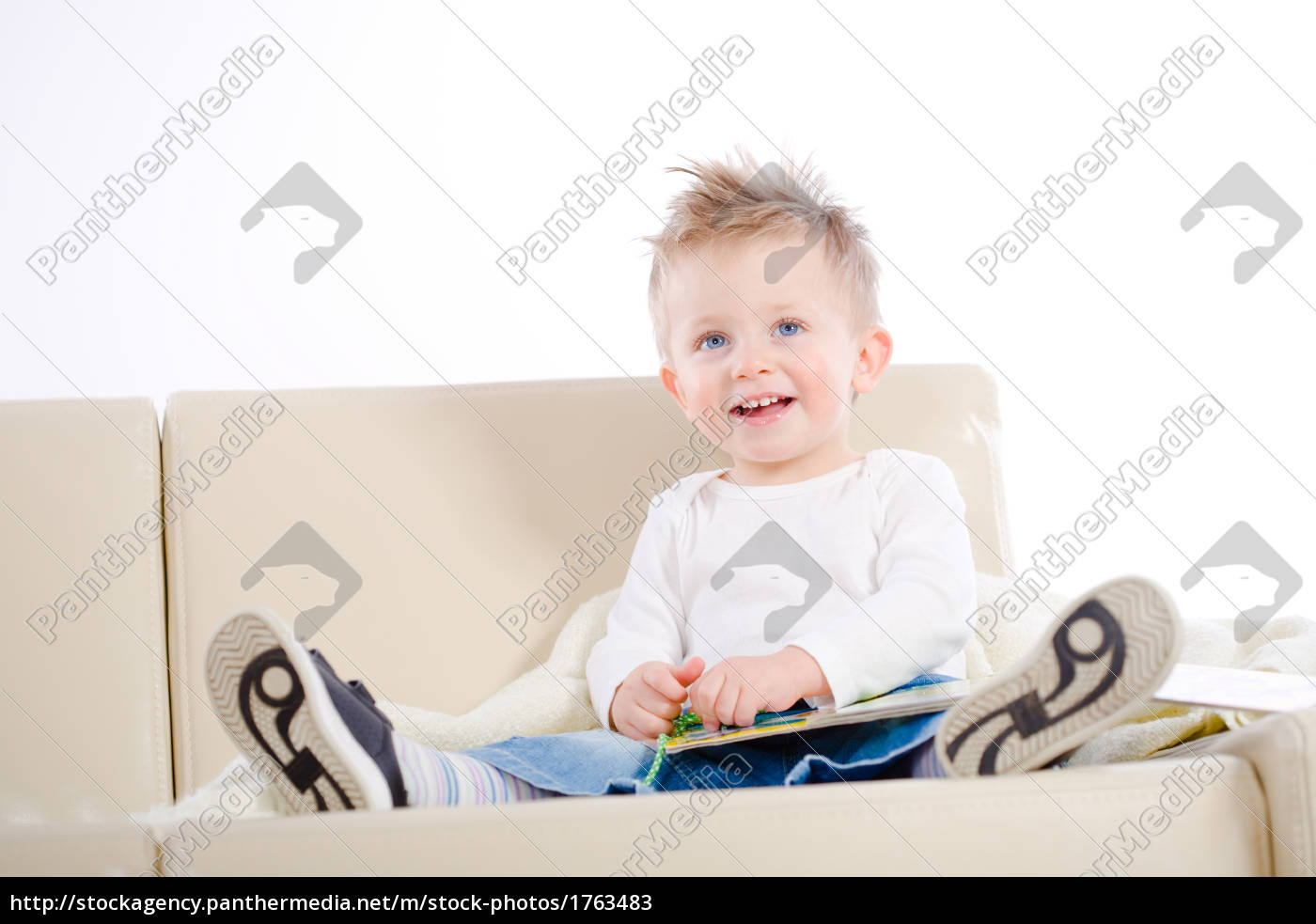 baby, boy, reading, book - 1763483