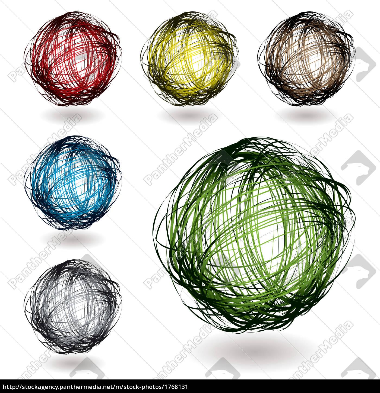 scribble, color, variation - 1768131