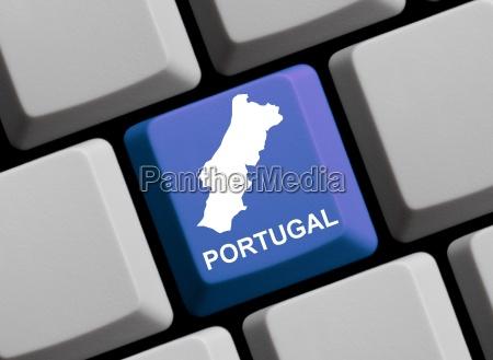 portugal, -, card, on, computer, keyboard - 1769379