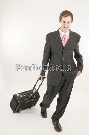 man, with, suitcase, casual - 1770335