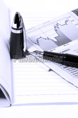 notebook, , newspaper, and, pen - 1770569