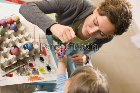 together, paint, the, easter, eggs - 1778033