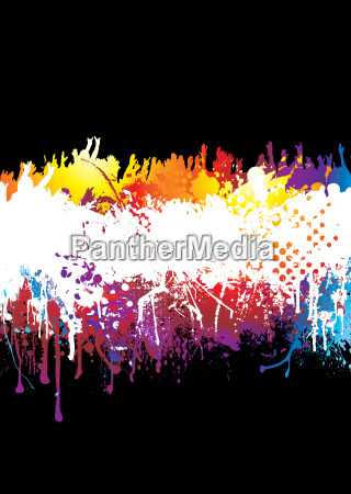 rainbow, splat, crowd - 1780325