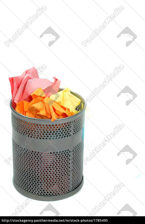 waste, paper, bin - 1785495
