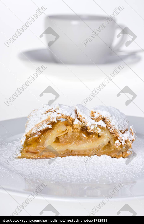 apple, strudel, with, icing, sugar - 1793981