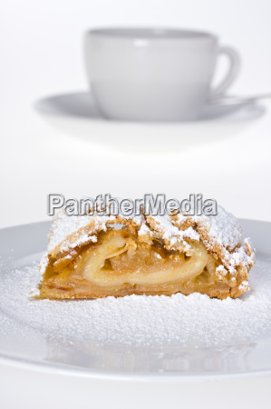 apple, strudel, with, icing, sugar - 1793981