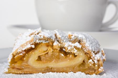 apple, strudel, with, icing, sugar - 1794087