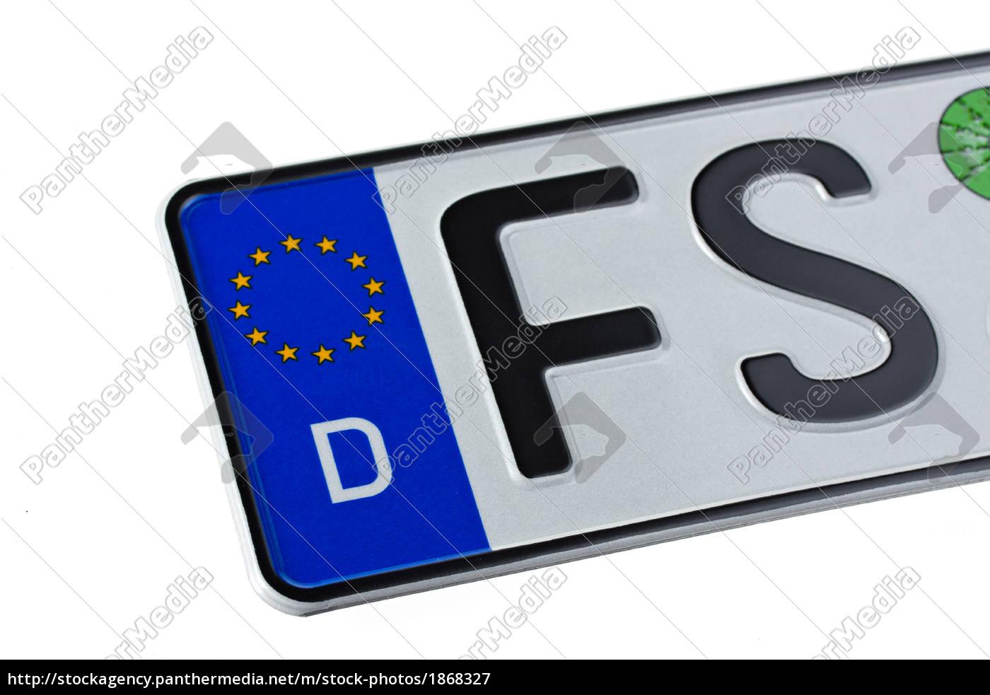 license, plate - 1868327