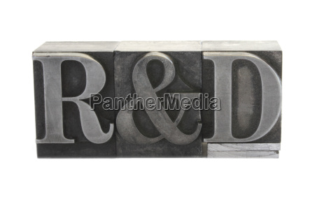 r and d in old metal