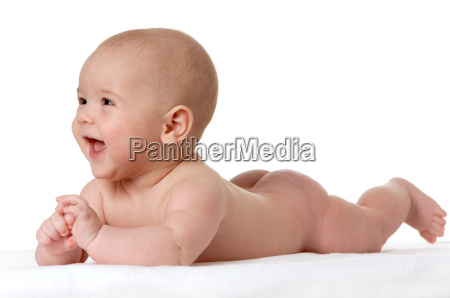 baby lying on stomach 5