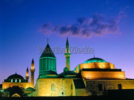 selimiye mosque in konya turkey
