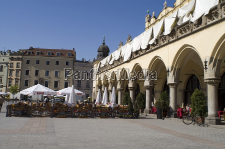 cafe in the main square