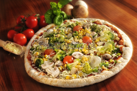 pizza, with, vegetables - 1965813