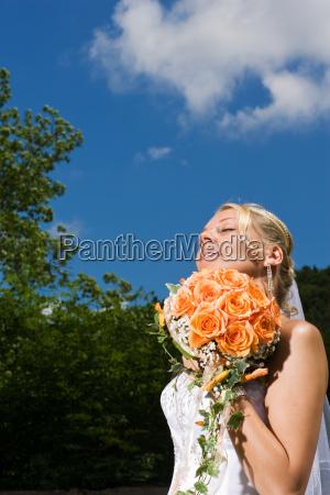 dreaming bride