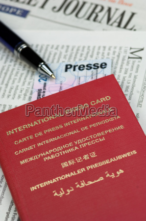 international press card