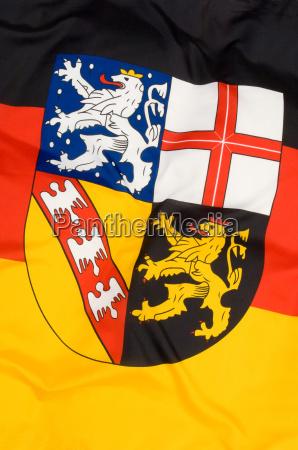 flag saarland