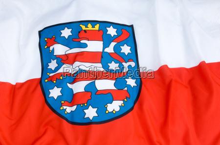 flag thuringia