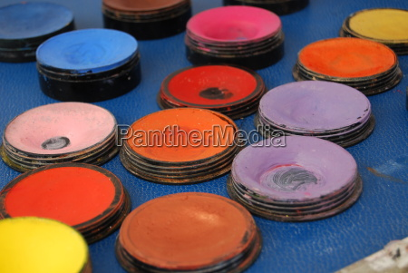 make up colours