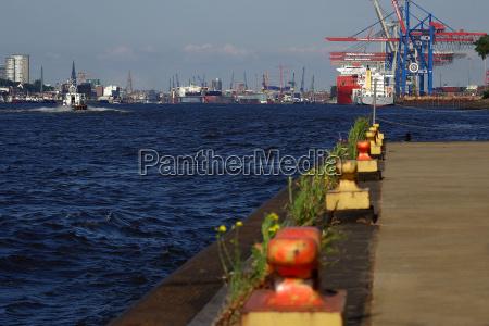 port of hamburg from bubendeyufer
