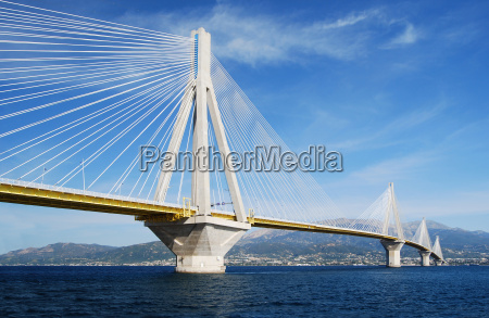 bridge over the gulf of patras