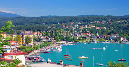 view of velden am woerthersee