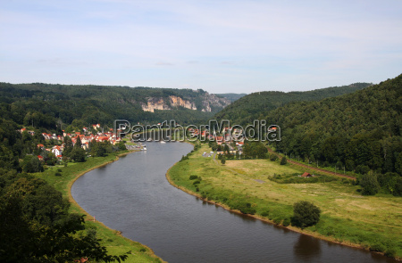 saxony elbe bastion germany german federal
