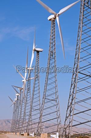 turbine row vertical