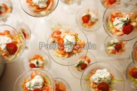 appetizer shrimp salad