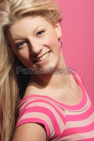 portrait of a very pretty blonde